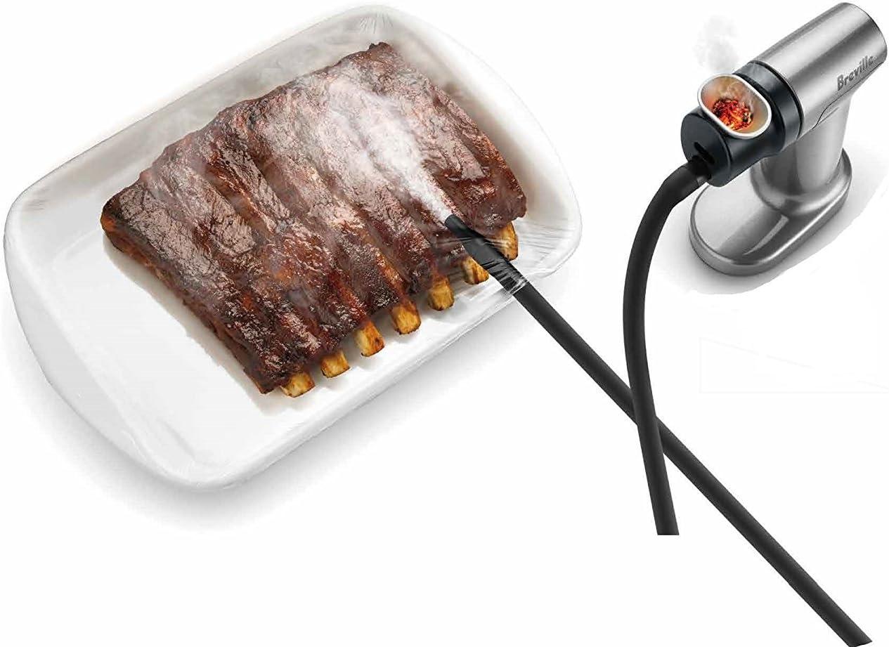 Breville BSM600SIL Smoking Gun Food Smoker, Silver