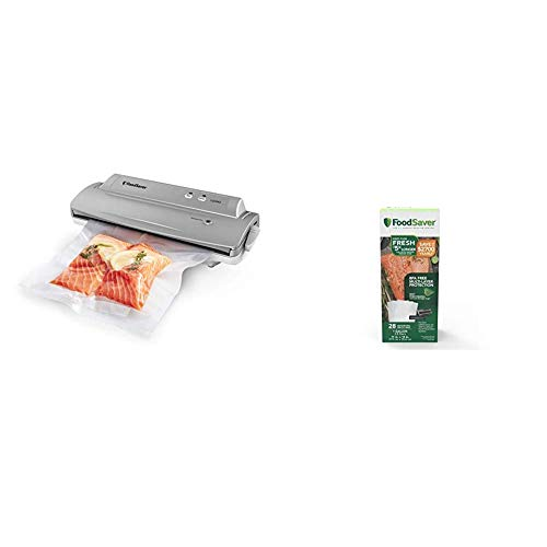 FoodSaver V2244 Vacuum Sealer Machine for Food Preservation with Bags and...