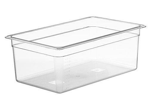 LIPAVI Sous Vide Container - Model C20 - 26 Quarts - 21 x 12.8 inch -...