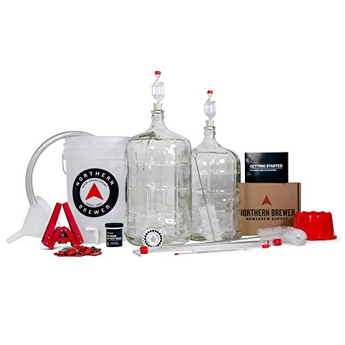 Northern Brewer Deluxe Homebrew Starter Kit, Equipment and 5 Gallon Recipe...