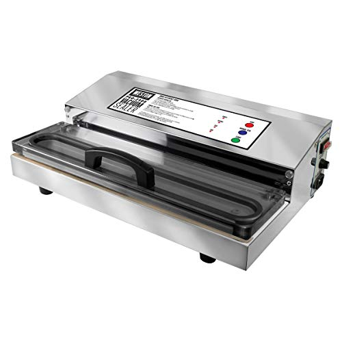 Weston Pro-2300 Commercial Grade Stainless Steel Vacuum Sealer (65-0201),...