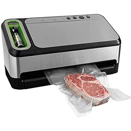 FoodSaver V4840 2-in-1 Vacuum Sealer Machine with Automatic Bag Detection...