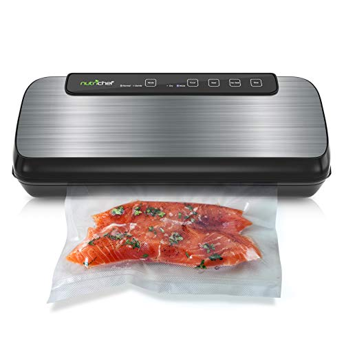 Vacuum Sealer By NutriChef | Automatic Vacuum Air Sealing System For Food...