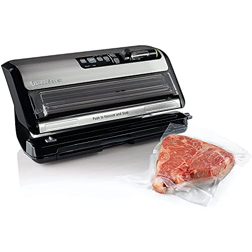 FoodSaver FM5200 2-in-1 Automatic Vacuum Sealer Machine with Express Bag...