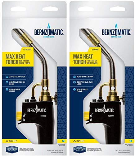 Bernzomatic TS8000 - High Intensity Trigger Start Torch with Searzall Torch...