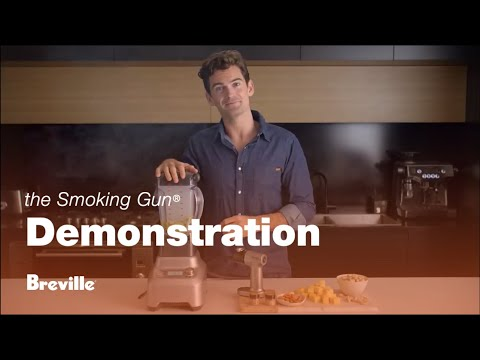 Breville Smoking Gun - Product Demonstration