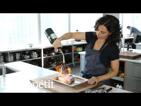 Carla Uses a Searzall Torch to Sear Steak | Bon Appétit
