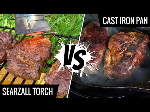 Cast Iron Pan VS Searzall - Best way to sear SOUS VIDE STEAKS - Series E1
