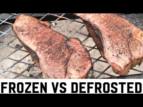 Frozen VS Defrosted Sous Vide Challenge! Debunking a huge Debate 🙂👊👊
