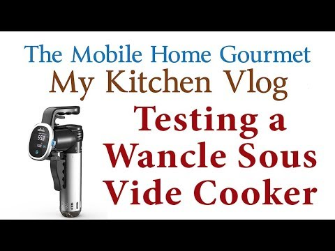 I unbox and test a Wancle Sous Vide Immersion Cooker