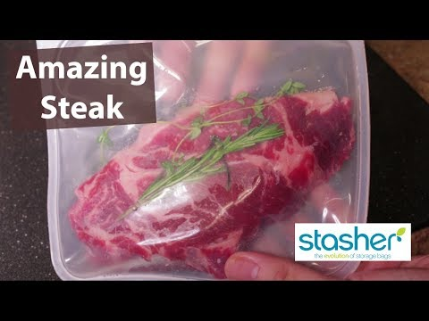 Anova Sous Vide Bags Made by Stasher Part 2 - Cook Test