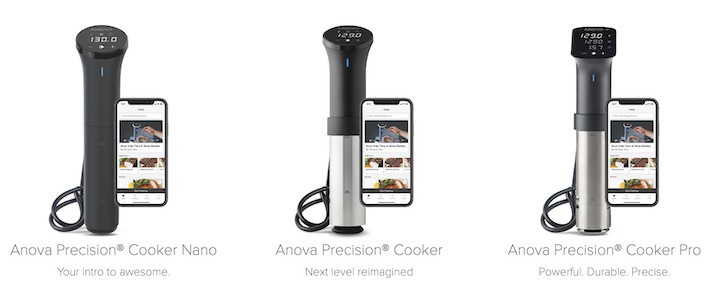 Anova Culinary Precision Cooker Lineup